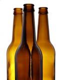 μπουκάλια τρία Στοκ εικόνα με δικαίωμα ελεύθερης χρήσης