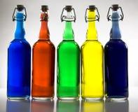 μπουκάλια στοκ εικόνα με δικαίωμα ελεύθερης χρήσης
