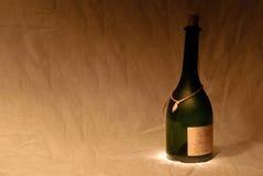 μπουκάλι κενό Στοκ εικόνα με δικαίωμα ελεύθερης χρήσης