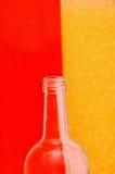 μπουκάλι κενό Στοκ φωτογραφία με δικαίωμα ελεύθερης χρήσης