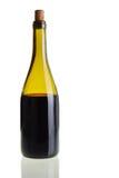 Μπουκάλι κόκκινου κρασιού στοκ εικόνες με δικαίωμα ελεύθερης χρήσης