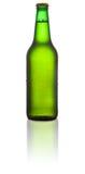 μπουκάλι μπύρας πράσινο Στοκ εικόνα με δικαίωμα ελεύθερης χρήσης