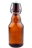 μπουκάλι μπύρας τα καφετ&iot Στοκ φωτογραφία με δικαίωμα ελεύθερης χρήσης