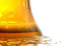μπουκάλι μπύρας φρέσκο Στοκ Φωτογραφίες