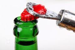 μπουκάλι πράσινο Στοκ εικόνες με δικαίωμα ελεύθερης χρήσης