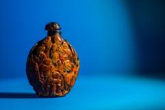 μπουκάλι της κινεζικής ζωγραφικής στοκ εικόνες
