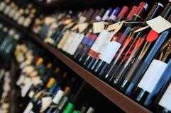 Μπουκάλι του κρασιού Στοκ Εικόνες