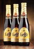 Μπουκάλια δέντρων της μπύρας Leffe Στοκ Εικόνες