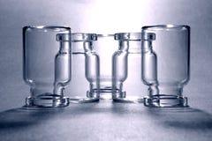 Μπουκάλια γυαλιού Στοκ φωτογραφία με δικαίωμα ελεύθερης χρήσης