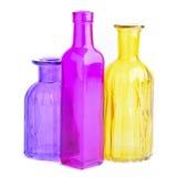 μπουκάλια ζωηρόχρωμα Στοκ εικόνα με δικαίωμα ελεύθερης χρήσης