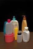 μπουκάλια ζωηρόχρωμα Στοκ Εικόνες