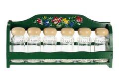 Μπουκάλια καρυκευμάτων Στοκ εικόνα με δικαίωμα ελεύθερης χρήσης