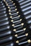 Μπουκάλια κρασιού Στοκ φωτογραφία με δικαίωμα ελεύθερης χρήσης