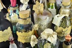 μπουκάλια μαγικά Στοκ Εικόνες