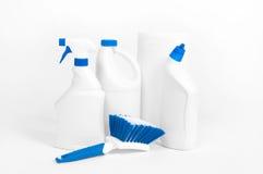 Μπουκάλια με το απορρυπαντικό Στοκ φωτογραφίες με δικαίωμα ελεύθερης χρήσης
