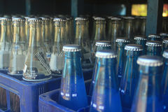 Μπουκάλια ποτών Στοκ φωτογραφία με δικαίωμα ελεύθερης χρήσης