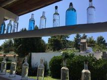 μπουκάλια πολύχρωμα Στοκ Εικόνα