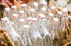 Παλαιά μπουκάλια Στοκ Εικόνες