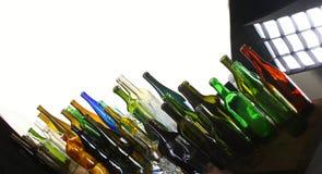 Μπουκάλια συλλογής Στοκ φωτογραφία με δικαίωμα ελεύθερης χρήσης