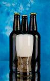 Μπουκάλια της μπύρας Στοκ εικόνες με δικαίωμα ελεύθερης χρήσης