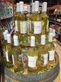 Μπουκάλια του κρασιού Στοκ Εικόνες