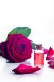 Μπουκάλια του ουσιαστικού πετρελαίου για aromatherapy Στοκ Φωτογραφίες