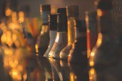 Μπουκάλια φραγμών Στοκ Εικόνες