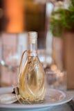 Μπουκάλι κονιάκ Στοκ φωτογραφία με δικαίωμα ελεύθερης χρήσης