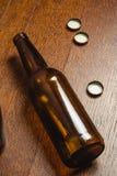 μπουκάλι μπύρας κενό Στοκ εικόνες με δικαίωμα ελεύθερης χρήσης