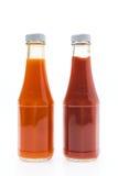 Μπουκάλι σάλτσας Στοκ Εικόνες