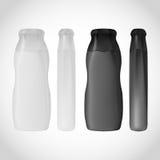 Μπουκάλι σαμπουάν που απομονώνεται στο άσπρο υπόβαθρο για το σχέδιο Στοκ εικόνα με δικαίωμα ελεύθερης χρήσης