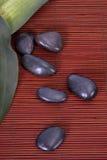 Μπουκάλι massage oil spa Στοκ Φωτογραφίες