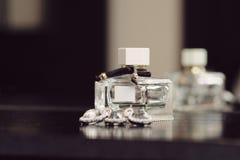 μπουκάλι parfume Στοκ φωτογραφίες με δικαίωμα ελεύθερης χρήσης