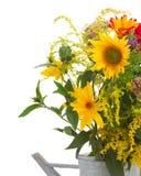 Μπουκέτο λουλουδιών των λουλουδιών φθινοπώρου πτώσης Στοκ Εικόνες