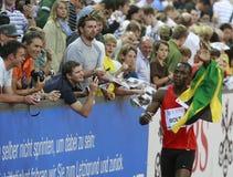 μπουλόνι usain Στοκ φωτογραφίες με δικαίωμα ελεύθερης χρήσης