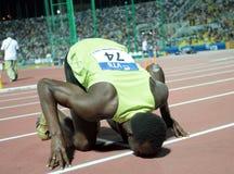 Μπουλόνι Usain στοκ εικόνα με δικαίωμα ελεύθερης χρήσης