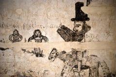 Μπουντρούμια του Inquisition.graffiti Στοκ φωτογραφίες με δικαίωμα ελεύθερης χρήσης