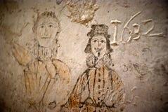 Μπουντρούμια του Inquisition.graffiti Στοκ φωτογραφία με δικαίωμα ελεύθερης χρήσης