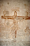 Μπουντρούμια του Inquisition.graffiti Στοκ Φωτογραφία