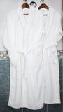 μπουρνούζια δύο στοκ φωτογραφία με δικαίωμα ελεύθερης χρήσης