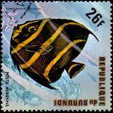 ΜΠΟΥΡΟΥΝΤΙ - CIRCA 1974: το γραμματόσημο, που τυπώνεται α στο Μπουρούντι, παρουσιάζει Στοκ εικόνες με δικαίωμα ελεύθερης χρήσης