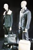 Μπουτίκ με τα ομοιώματα μόδας Στοκ Φωτογραφίες