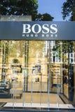 Μπουτίκ μόδας της Hugo Boss Στοκ φωτογραφία με δικαίωμα ελεύθερης χρήσης