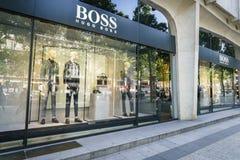 Μπουτίκ μόδας της Hugo Boss Στοκ Εικόνα