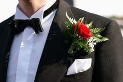μπουτονιέρα Στοκ φωτογραφία με δικαίωμα ελεύθερης χρήσης