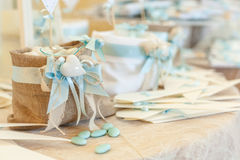 Μπουφές γαμήλιων καραμελών στοκ εικόνες με δικαίωμα ελεύθερης χρήσης