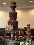 Μπουφές σοκολάτας σε Café Fleuri στο ξενοδοχείο Langham στη Βοστώνη, Μασαχουσέτη στοκ φωτογραφία με δικαίωμα ελεύθερης χρήσης