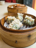 Μπουλέττα στο καλάθι, κινεζικά τρόφιμα Στοκ Εικόνα