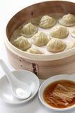 Μπουλέττες σούπας, μακρύ bao του Xiao στοκ φωτογραφίες