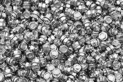 Μπουλόνια, καρύδια με τα πλυντήρια Στοκ Εικόνα